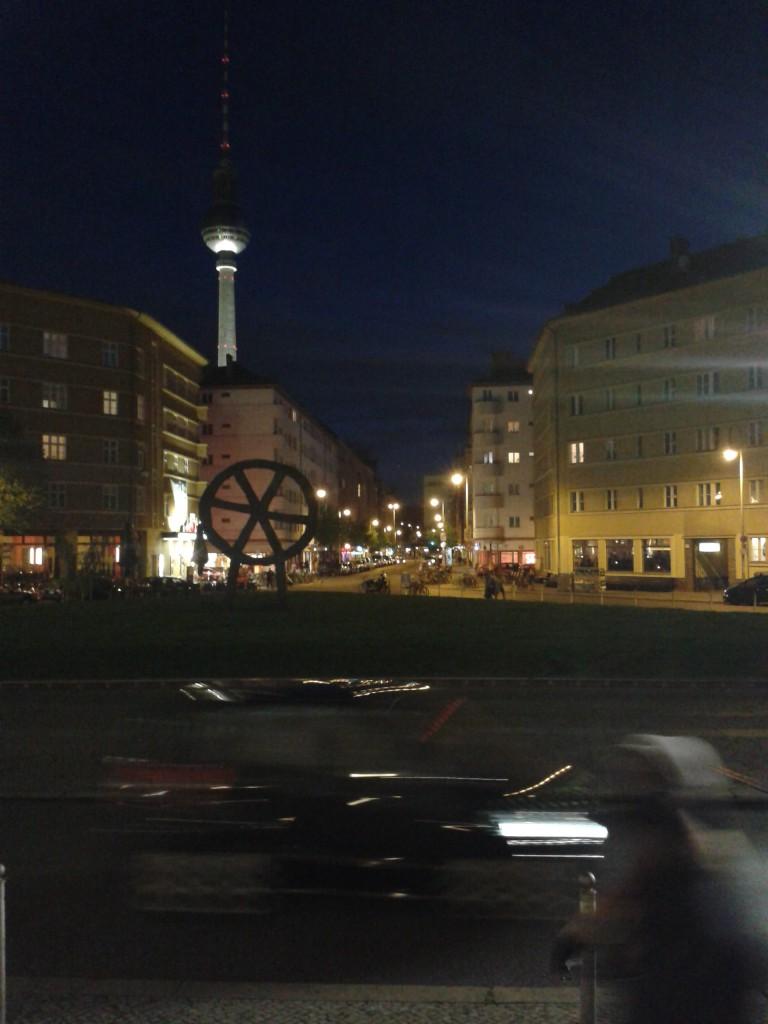 Rosa-Luxemburg-Platz, Berlin.